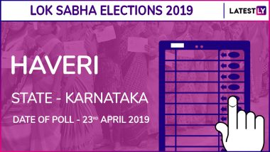 Haveri Lok Sabha Constituency in Karnataka: Candidates, Current MP, Polling Date and Election Results 2019