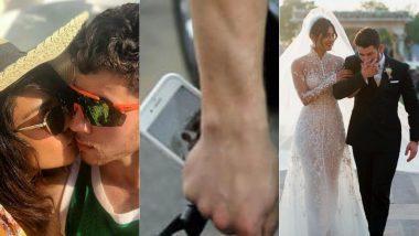 Nick Jonas' Phone Lock Screen Proves That He Cannot Get Enough Of His Wife Priyanka Chopra!