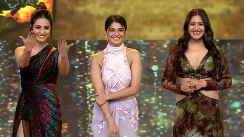 Hina Khan, Surbhi Chandna & Jennifer Winget in One Frame at Indian Telly Awards 2019 Was Such a Treat! View Pics