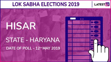 Hisar Lok Sabha Constituency in Haryana: Candidates, Current MP, Polling Date And Election Results 2019