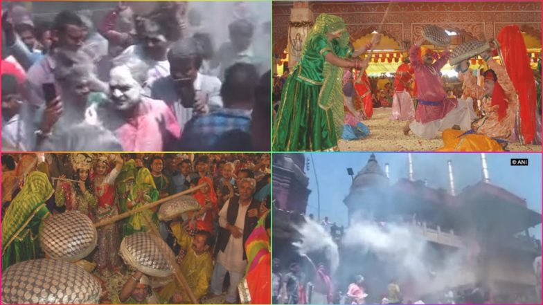 Holi 2019 Images: From Pyre Ashes to Gulal, Holi Festivities Have Begun! See Colourful Festival Pics