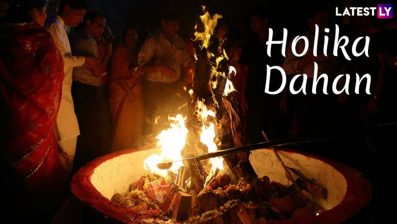 Holika Dahan Images & HD Wallpapers for Free Download Online: Wish Happy Holi 2019 With WhatsApp Stickers & Beautiful GIF Greeting Messages