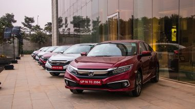 2019 Honda Civic Sedan Launched in India at Rs 17.69 Lakh; Prices, Features, Interior & Specifications