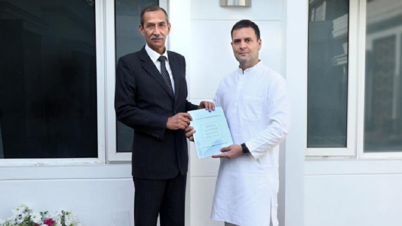 Lt Gen DS Hooda, Architect of Post-Uri Surgical Strikes, Submits National Security Blueprint to Rahul Gandhi