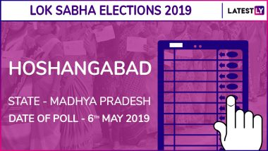 Hoshangabad Lok Sabha Constituency Result 2019 in Madhya Pradesh: Uday Pratap Singh of BJP Wins Parliamentary Election