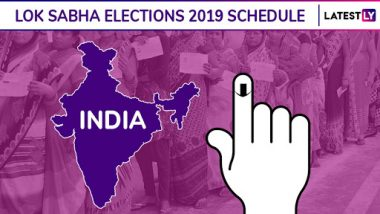 Lok Sabha Elections 2019 Dates Announcement by ECI Highlights: Mumbai Votes on April 29, Delhi on May 12; Check Constituency-Wise Voting Schedule