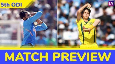 India vs Australia 5th ODI 2019 Preview: Virat Kohli & Men Aim to Seal the Series Ahead of World Cup 2019