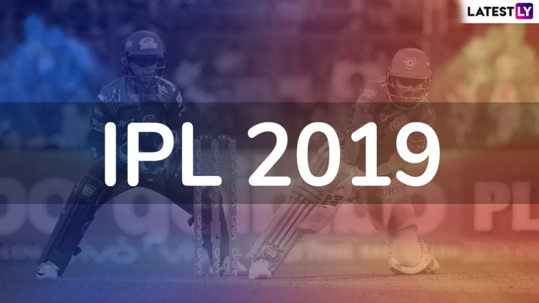 IPL 2019 Schedule in PDF for All Matches: Download VIVO Indian Premier League 12 Full Timetable With Fixtures, Dates, Team and Venue Details