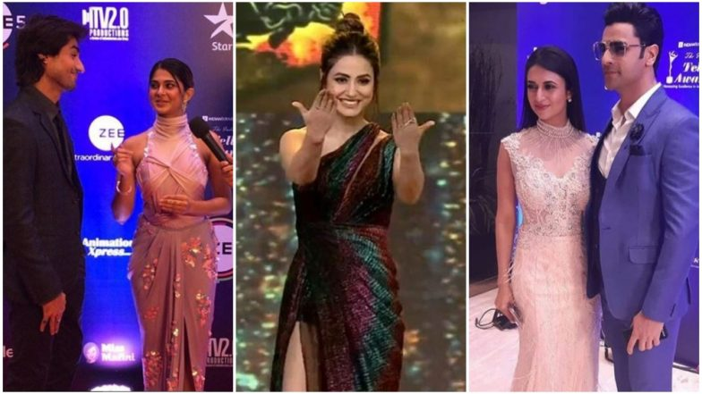 Indian Telly Awards 2019: Jennifer Winget, Hina Khan and Divyanka Tripathi Arrive! View Pics