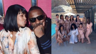 Idris Elba's Fiancée Sabrina Dhowre Is Having A Ball At Her Extravagant Bachelorette Party - View Pics
