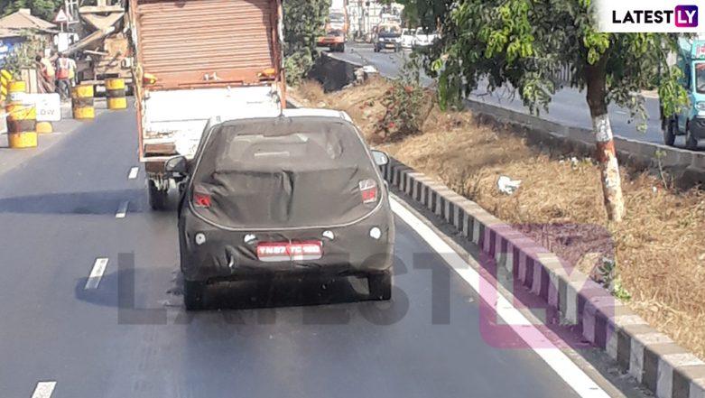 Exclusive! 2019 Hyundai Grand i10 Hatchback Spied Testing Near Lonavla; View Pic