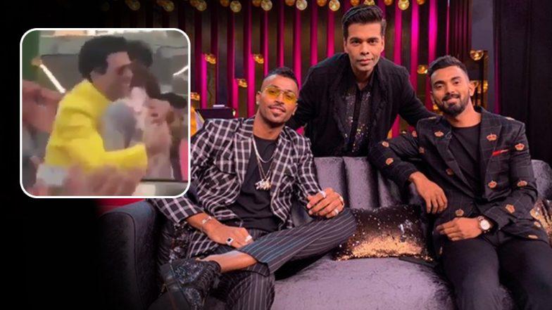 Akash Ambani and Shloka Mehta Wedding: All is Well Between Karan Johar and Hardik Pandya, Watch Video