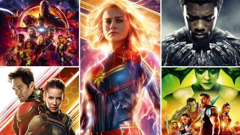 From Avengers: Infinity War to Captain Marvel: Here's Taking a Look at Opening Day Collections of Last Five MCU Movies