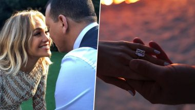 Jennifer Lopez Engaged to Alex Rodriguez: J.Lo's Massive Engagement Ring Is What a Dream Looks Like! Here's How Much the Diamond Is Worth
