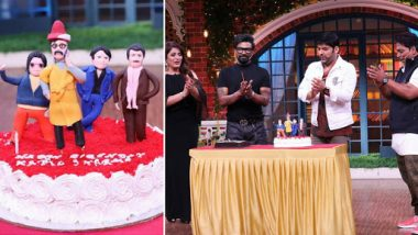 The Kapil Sharma Show: Comedian Shares His Birthday With Guest Remo D'Souza, TKSS Team Celebrates With Special Cakes for the Duo - See Pics!