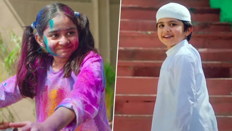 Surf Excel's 2019 Holi Ad #RangLaayeSang is Out and Twitter Is Divided With #SurfExcel Reactions (Watch Video)