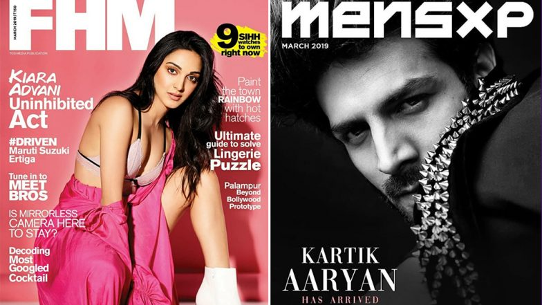Kartik Aaryan Or Kiara Advani Who Shines Brighter On The Covers Of These Leading Glossies?