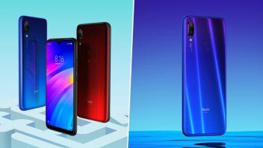 Xiaomi Redmi Note 7 Pro, Redmi Note 7 Smartphones to Go on Sale Today at Flipkart, Amazon India & Mi Stores