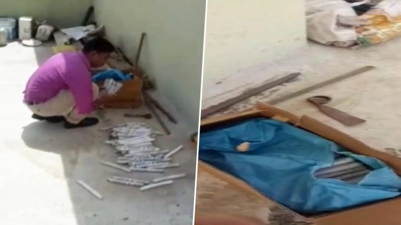 Maharashtra: Huge Quantity of Explosives, Detonators Seized From a House in Palghar; Two Arrested