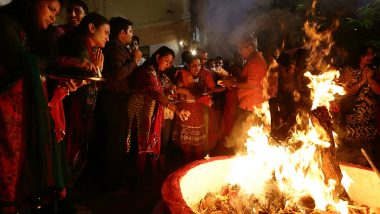 Holika Dahan 2020: Should You Put Neem Leaves, Camphor and Ghee in the Holika Fire for Germ-Free Air?