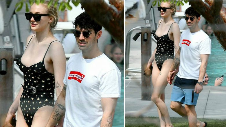 Game Of Thrones Hot Babe Sophie Turner Slips Into a Sexy Monokini, And Miami Gets Hotter! View Pics