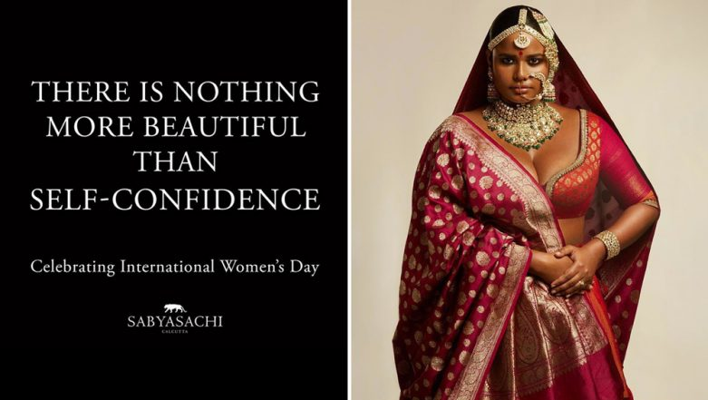 Sabyasachi Faces Backlash for Stereotyping a Dusky Plus-Size Model to Wish Women's Day 2019! See Controversial Photo