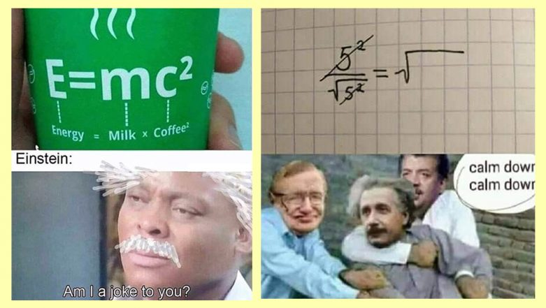 Albert Einstein Memes 2019: LOL at These Hilarious Memes, Jokes and Funny GIFs of the Science Legend