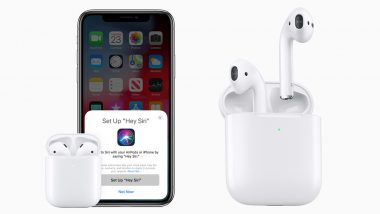 New Apple AirPods Gets H1 Chip, Wireless Charging Case, Hey Siri Support & Long Battery Life