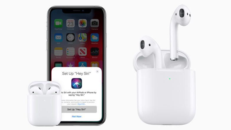 Apple Announces AirPods 2 with Wireless Charging Optional