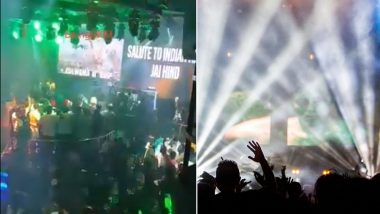 Indian National Anthem Played at Nightclub in Thailand as Tribute to Pulwama Attack Martyrs and IAF Wing Commander Abhinandan Varthaman? Video Goes Viral