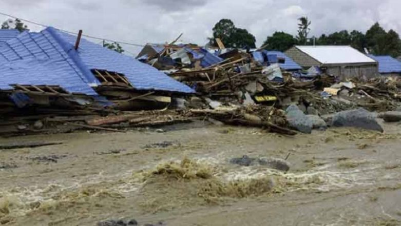 Indonesia Buries Unidentified Papua Flood Victims in Mass Grave