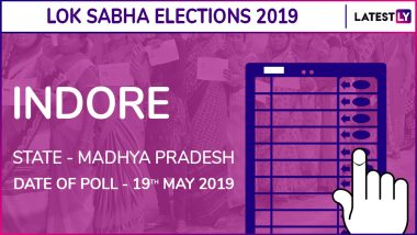 Indore Lok Sabha Constituency Result 2019 in Madhya Pradesh: Shankar Lalwani of BJP Wins Parliamentary Election