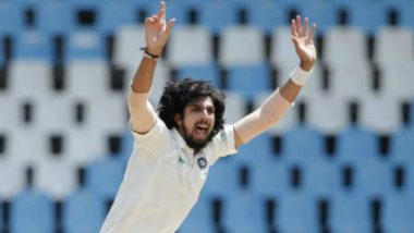 Ishant Sharma Set to Surpass Kapil Dev in Elite India List of Most Wicket-Taker Outside Asia During India vs West Indies Second Test