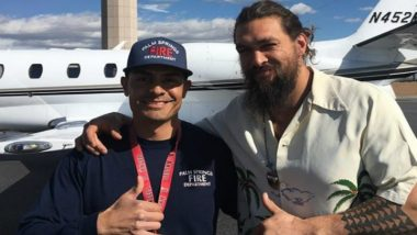 Aquaman Star Jason Momoa's Private Jet Makes Emergency Landing After Suspected Engine Fire