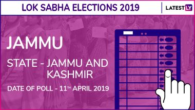 Jammu Lok Sabha Constituency Result 2019 in Jammu And Kashmir: Jugal Kishore of BJP Wins Parliamentary Election