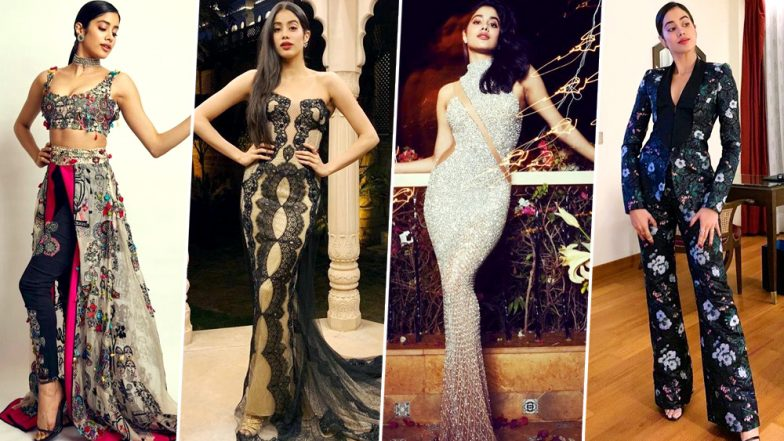 Janhvi Kapoor Birthday Special: The Dhadak Actress is a Fashionista in the Making and We Can't Help but Adore her Fashion Choices