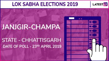 Janjgir-Champa Lok Sabha Constituency in Chhattisgarh Results 2019: BJP Candidate Gujaram Ajgale Elected as MP
