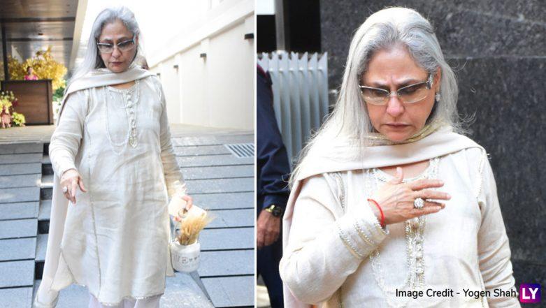 Jaya Bachchan Slams Fan For Clicking Her Pics on Phone, Netizens Call Her 'Rude' (Watch Viral Video)