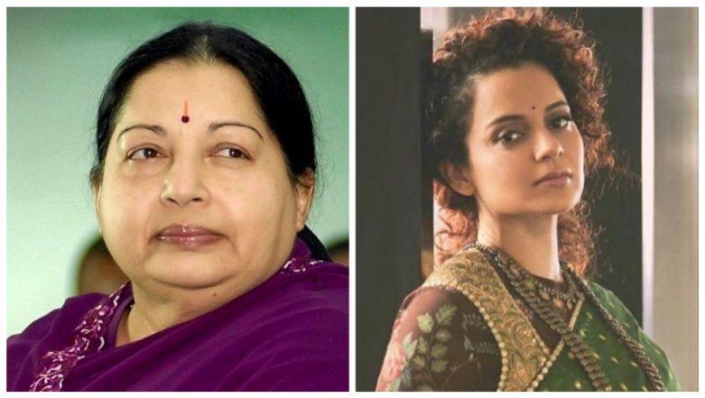 Kangana Ranaut To Play Jayalalithaa in AL Vijay's Biopic on the Politician Titled as 'Thalaivi'?