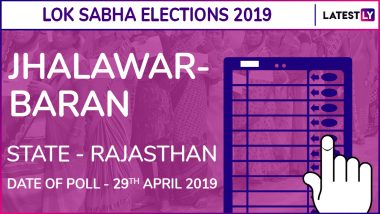 Jhalawar–Baran Lok Sabha Constituency in Rajasthan: Candidates, Current MP, Polling Date And Election Results 2019