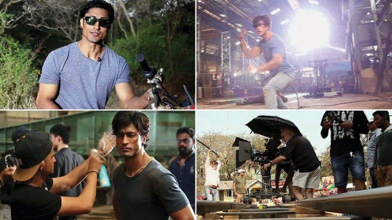 Junglee Making of Action Scenes: Vidyut Jammwal's Prep for The Dangerous Stunts Will Make You Applaud! (Watch Video)