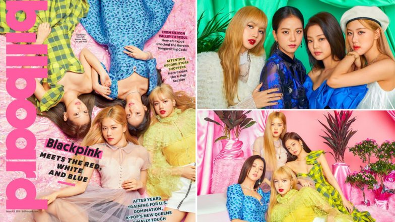 K-Pop All-Girl Band BLACKPINK Turn Covergirls for Billboard Magazine March Issue, Check Pics From Their Photoshoot