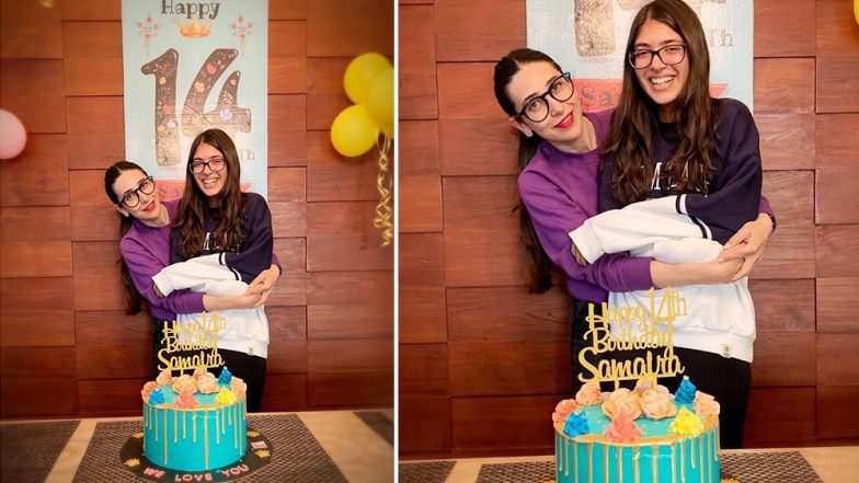 Karisma Kapoor Has The Sweetest Birthday Wish for Samaira as She Turns 14 - See Pic