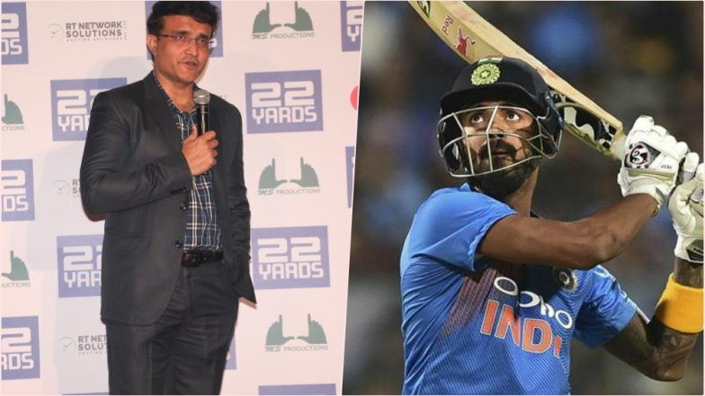 Kl Rahul in ICC World Cup 2019 Squad? Sourav Ganguly Says Has to Score Runs Away From Home to Fit in Team