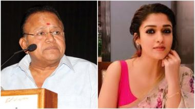 South Actor Radha Ravi Disrespects Nayanthara at Kolayuthir Kaalam's Press Meet - Watch Video