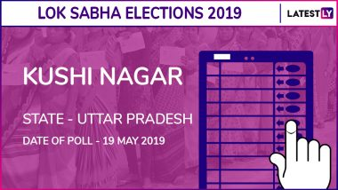 Kushi Nagar Lok Sabha Constituency in Uttar Pradesh Results 2019: Vijay Kumar Dubey of BJP Wins Parliamentary Election
