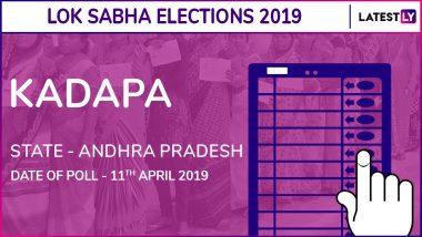 Kadapa Lok Sabha Constituency in Andhra Pradesh Results 2019: Y.S.Avinash Reddy of YSRCP Wins Parliamentary Election