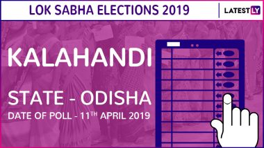 Kalahandi Lok Sabha Constituency in Odisha Live Results 2019: Leading Candidates From The Seat, 2014 Winning MP And More