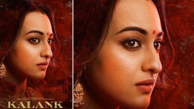Kalank New Poster: Sonakshi Sinha as Satya Shows Love and Longing In Her Beautiful Gaze