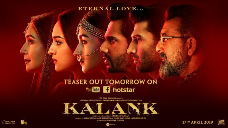 Kalank New Poster: Varun Dhawan, Alia Bhatt, Sonakshi